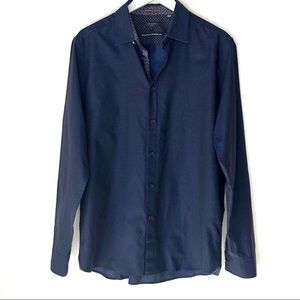 TED BAKER LONDON Blue Long Sleeve button up.